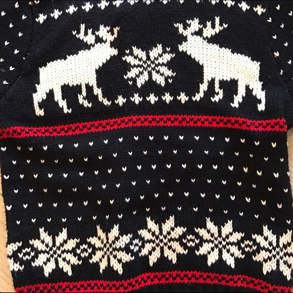 Abercrombie & Fitch - Fair Isle Moose Sweater from Denise's closet ...