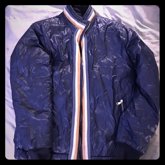 e745fcef60a Dolce & Gabbana Other - Dolce & Gabbana Dark Blue Men's Puffer Jacket