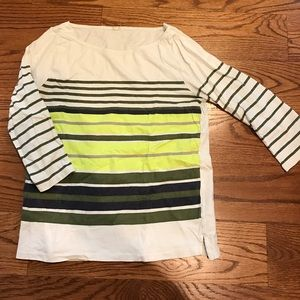 J.Crew striped long sleeve