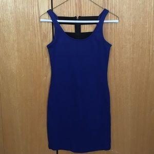 Forever 21 Dresses & Skirts - Blue caged back dress