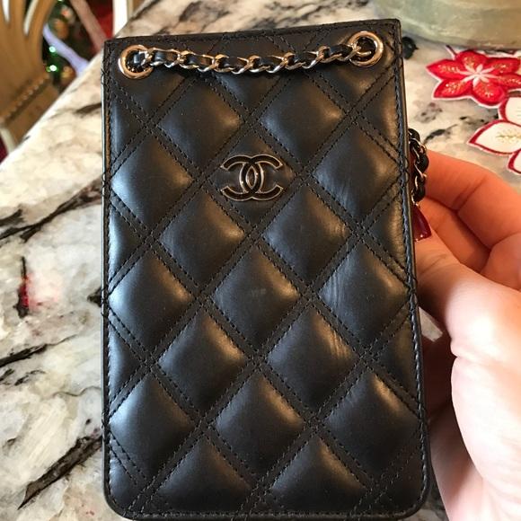4a1fc7adcd2f Chanel cell phone crossbody