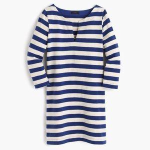 J. Crew Dresses & Skirts - J. Crew Striped Tunic Dress Blue Ivory Sz XXS