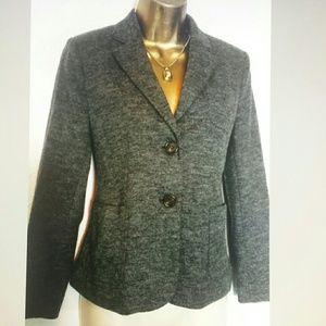 Gray Blazer wool blend
