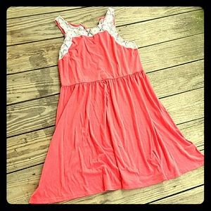 Pink & Lace Spring Dress!
