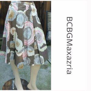 BCBGMaxAzria Dresses & Skirts - BCBGMaxAzria Pleated Skirt -Size 0