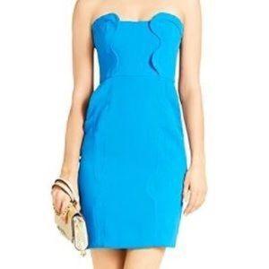DVF Blue Mini Dress with Pockets!