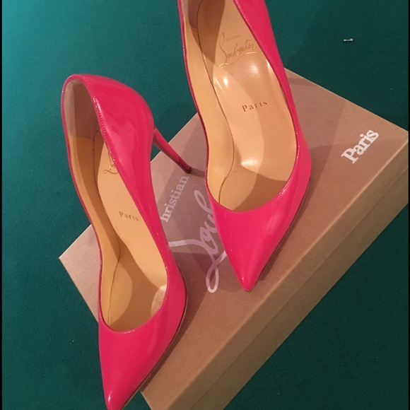 ebc11bbd6a Christian Louboutin Shoes - Hot pink Christian Louboutin Pigalle