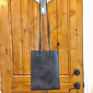 "Furla Handbags - Authentic FURLA brown leather ""lunch bag"" purse"