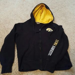 Colosseum Other - Iowa Hawkeyes zip up hoodie