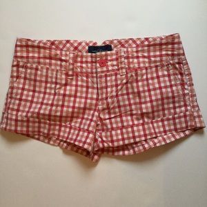 American Eagle Outfitters Pants - Plaid AEO Shorts