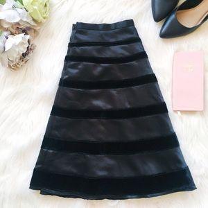 Behnaz Sarafpour Dresses & Skirts - Silk and velvet skirt