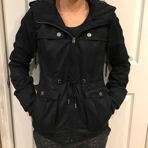 Aeropostale Jackets & Coats - Aeropostale women's Black utility coat sz S