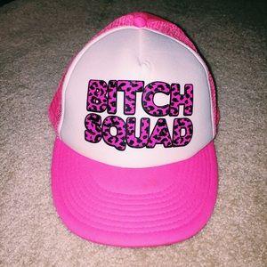 Hot-Pink Rave Trucker Hat
