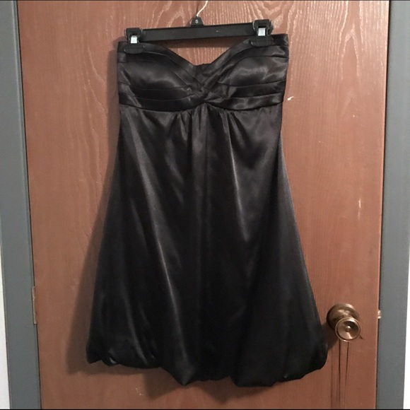 63% off Macy's Dresses & Skirts - Formal black strapless bubble ...