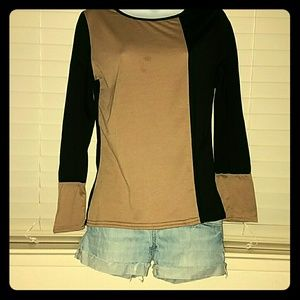 Tops - *Color Block Long Sleeve Tee*