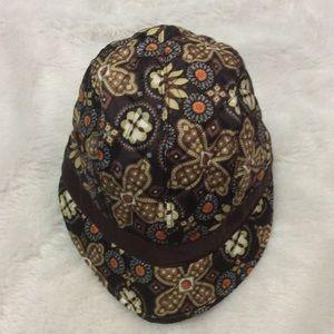 Vera Bradley Canyon Newsgirl Hat Fleece-Lined
