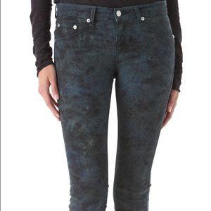 Rag & Bone tie dye legging jeans size 27 NWT