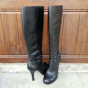 Arturo Chiang Shoes - Sexy Black Leather Boots by Arturo Chiang