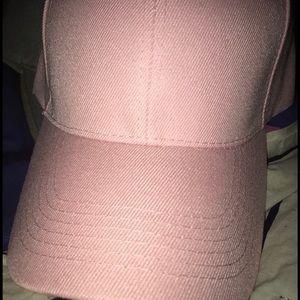 BABY PINK DAD HAT