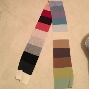 Gap scarf rainbow colors