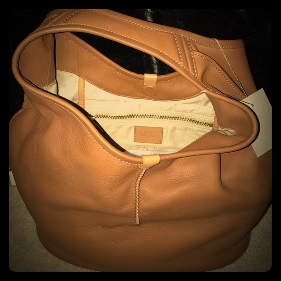 c5a8757d79d Ugg Leather Hobo Tote with TAGS ON. Huge hobo! NWT