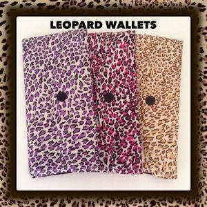 Handbags - LAST ONE‼️🔹HP Leopard Wallets