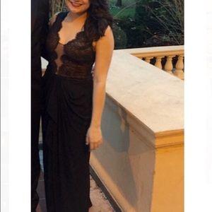 BCBGMaxAzria Dresses & Skirts - 💃🏽BCBG Maxazria Size 6 Lace Bodice Gown