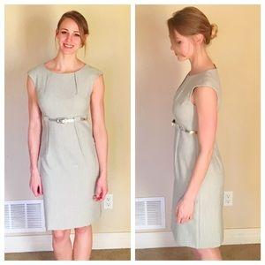 C de C Dresses & Skirts - Grey Sheath Business Dress