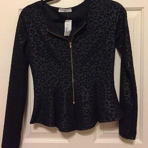 A3 Design Jackets & Blazers - Leopard Print Jacket