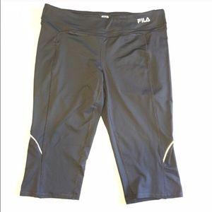 Fila Pants - Fila Sport Running Pant Charcoal Gray