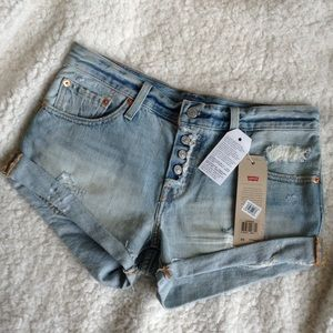 NWT Vintage high waisted Levis Shorts