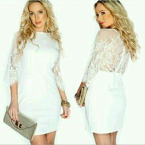 Chupchick  Dresses & Skirts - SALE! White lace dress