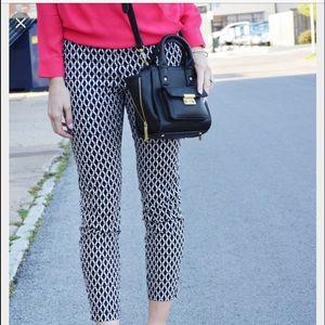 H&M slim fit patterned pants