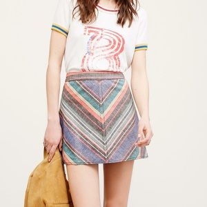 FREE PEOPLE YOURS TRULY SKIRT