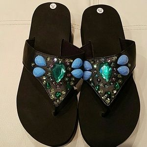 Shoes - Embellished Flip Flop