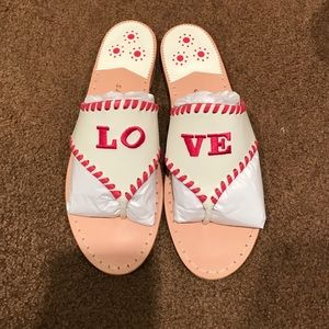 Jack Rogers Shoes - Feel the LO-VE Jack Rogers Sandals💗💓💘💖💞💕💝