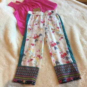 Route 66 Other - Boho girls pants size small-New w/tags
