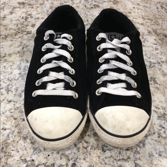 Reduced Leather Fur Lined Sneakers