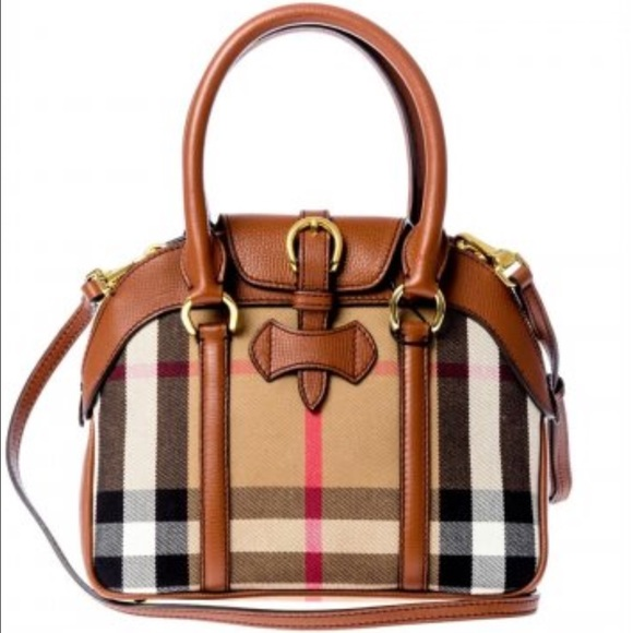 Burberry Handbags - Authentic Burberry Milverton small satchel 6eb1722a504c7