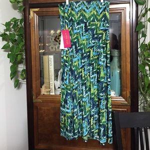 Sunny Leigh Size Medium Stretch Skirt NWT