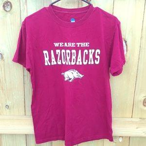 NCAA Tops - Arkansas Razorbacks T-Shirt