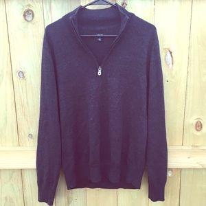 Apt. 9 Other - Men's Black Half-Zip Pullover 🔹