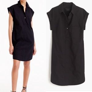 J.crew Short-Sleeve Cotton Dress, Small, NWT