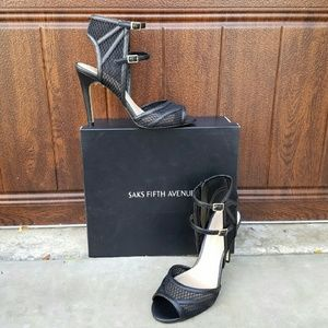 Saks Fifth Avenue Shoes - Sultry Saks Off Fifth Avenue Sandals