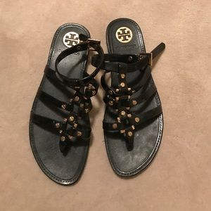 Tory Burch gladiator jelly sandals