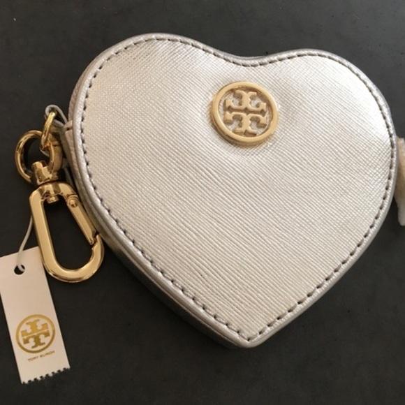 Tory Burch Accessories - Tory Burch Heart Key Fob/Coin Purse