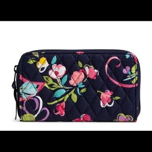 Vera Bradley Accordion Wallet Ribbons NWT
