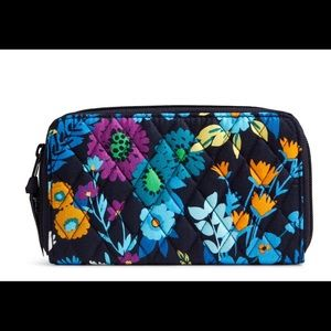 Vera Bradley Accordion Wallet Midnight Blues