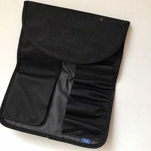 DHC travel makeup brush case