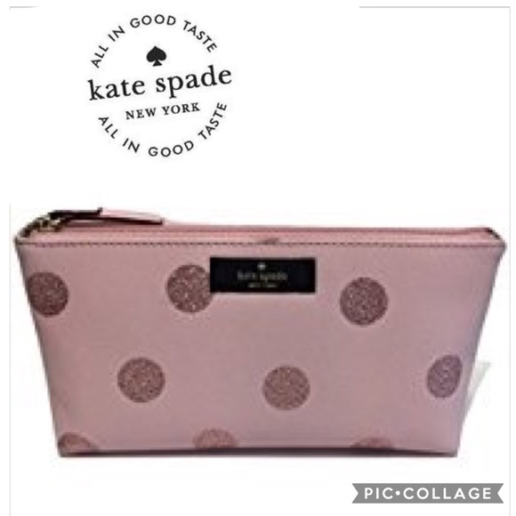 the best attitude 2f284 05465 Kate Spade little Shiloh haven lane cosmetic Bag Boutique